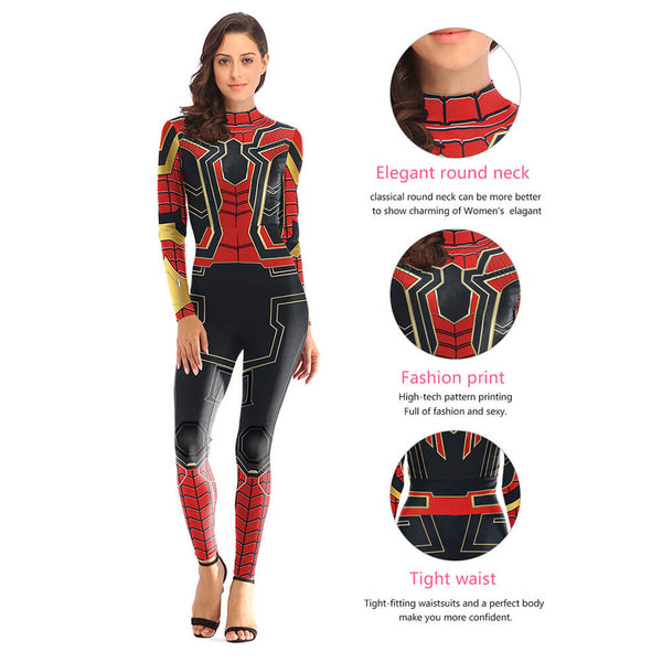 Halloween Spider-man Cosplay Costume - otakumadness