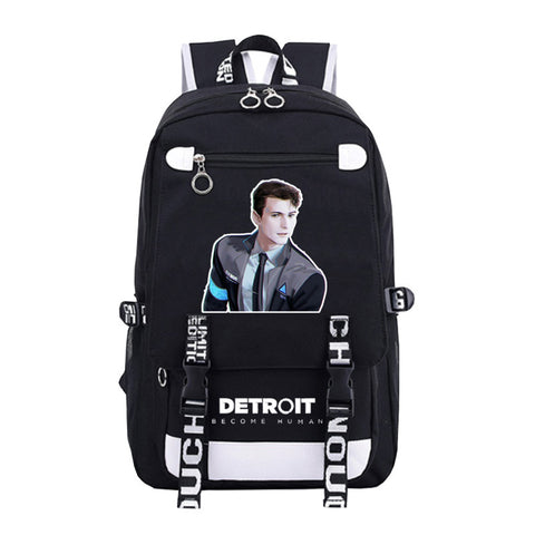 Detroit Become Human Backpack - otakumadness