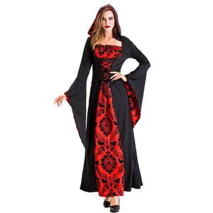 Deluxe Hooded Vampire Costume - otakumadness