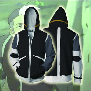 Voltron Hoodies - Legendary Defender Shiro Takashi Zip Up Hoodie OTA526 - otakumadness