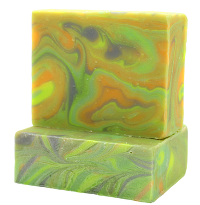 Restore Soap | citrus, basil + mint - Canard Labs  handcrafted, all natural bar soap made in Oregon. Bar soaps and bath body products made with quality ingredients.