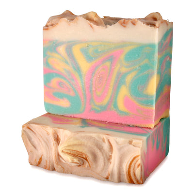 Sparkle Soap | green apple, lemon drop, cotton candy + champagne - Canard Labs  handcrafted, all natural bar soap made in Oregon. Bar soaps and bath body products made with quality ingredients.
