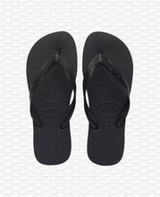 Load image into Gallery viewer, HAVAIANAS TOP BLACK