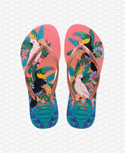 Load image into Gallery viewer, HAVAIANAS SLIM TROPICAL SILK ROSE