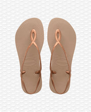 Load image into Gallery viewer, HAVAIANAS LUNA ROSE GOLD