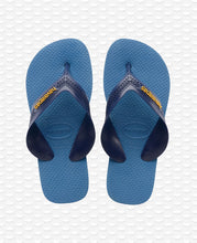 Load image into Gallery viewer, HAVAIANAS KIDS MAX NAVY BLUE/BLUE STAR/WHITE