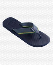Load image into Gallery viewer, HAVAIANAS URBAN BRASIL NAVY BLUE