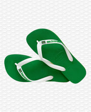 Load image into Gallery viewer, HAVAIANAS BRASIL LAYERS GREEN