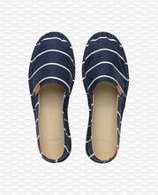 სურათის ჩასმა Gallery viewer-ში, HAVAIANAS ORIGINE STRIPES I NAVY BLUE