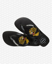 Load image into Gallery viewer, HAVAIANAS TOP WILD BLACK