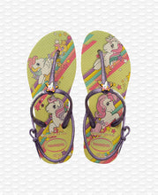 Load image into Gallery viewer, HAVAIANAS KIDS FREEDOM SL MY LITTLE PONY LEMON YELLOW