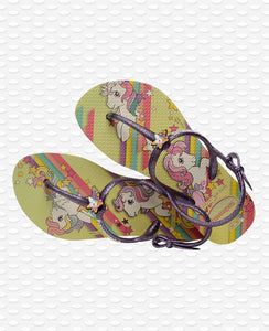 HAVAIANAS KIDS FREEDOM SL MY LITTLE PONY LEMON YELLOW