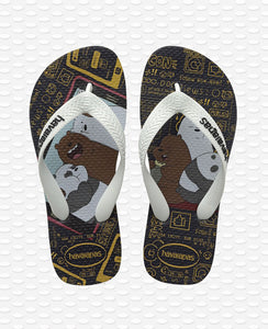 HAVAIANAS KIDS CARTOON BLACK