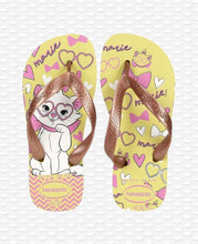 Load image into Gallery viewer, HAVAIANAS KIDS TOP MARIE POLLEN YELLOW