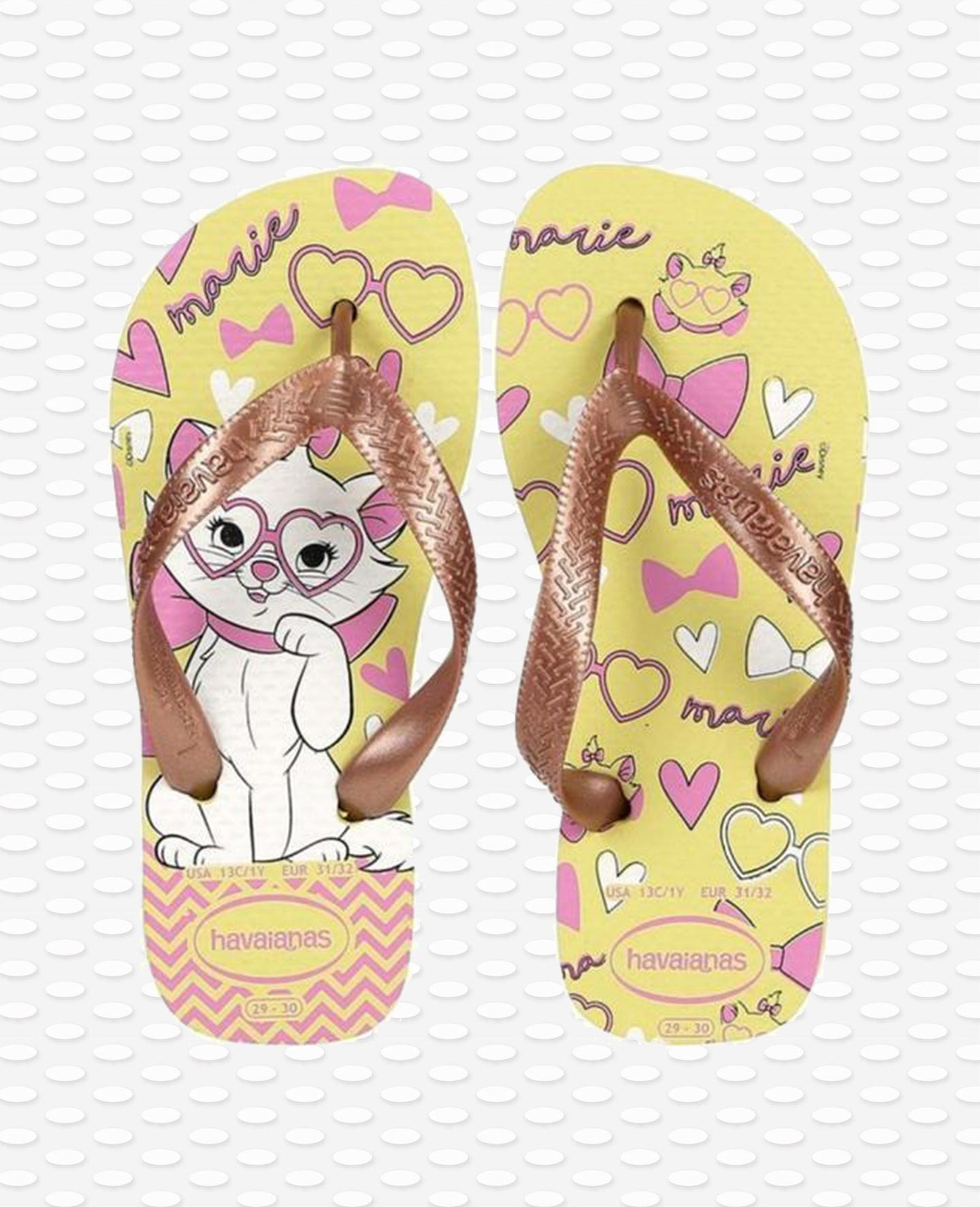 HAVAIANAS KIDS TOP MARIE POLLEN YELLOW