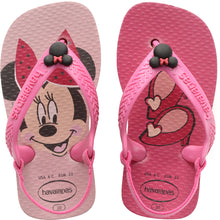 Load image into Gallery viewer, HAVAIANAS BABY DISNEY CLASSICS II PEARL PINK