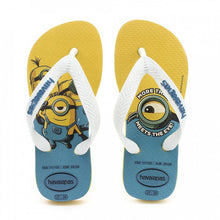 Load image into Gallery viewer, HAVAIANAS MINIONS YELLOW CITRIC/WHITE