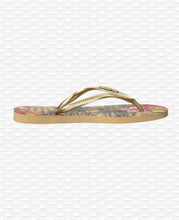 Load image into Gallery viewer, HAVAIANAS SLIM TROPICAL IVORY