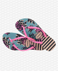 HAVAIANAS SLIM THEMATIC BALLET ROSE