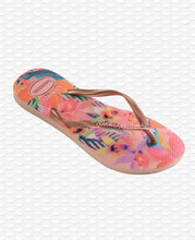 Load image into Gallery viewer, HAVAIANAS SLIM TROPICAL BALLET ROSE
