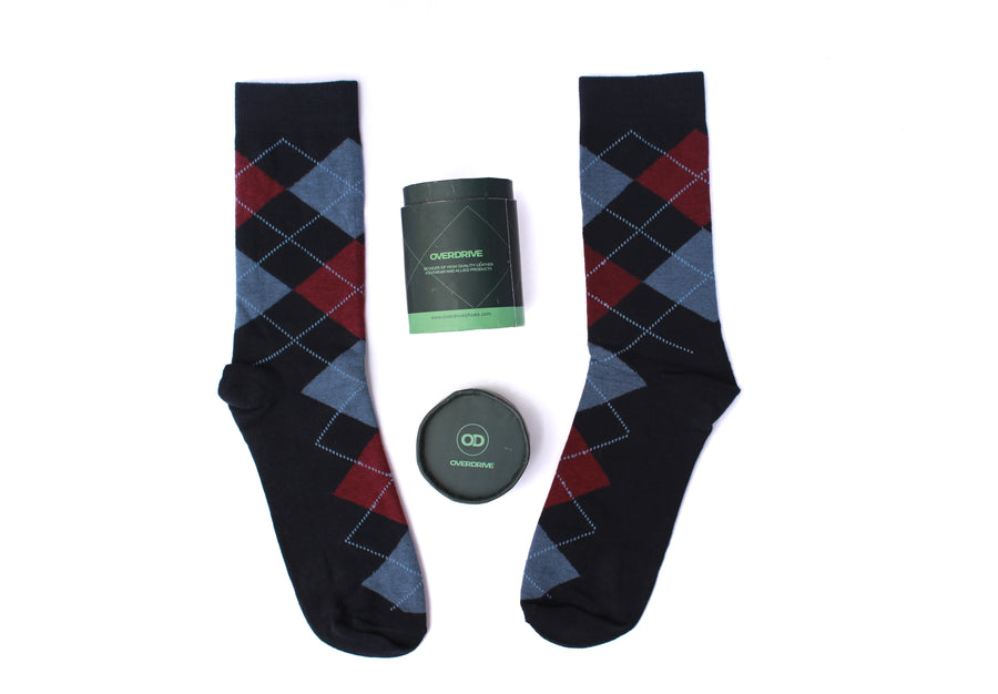 Men's Very-berry Human Kind Breathable Socks