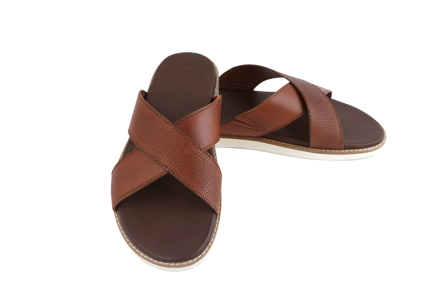 Breathe Tan Slippers