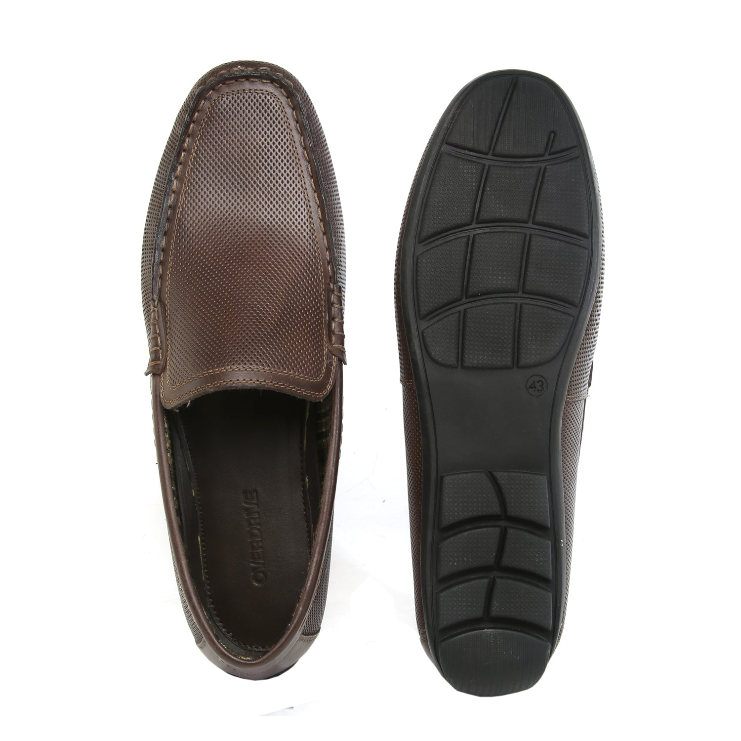 Cars not Leaving Brown Casual Shoe