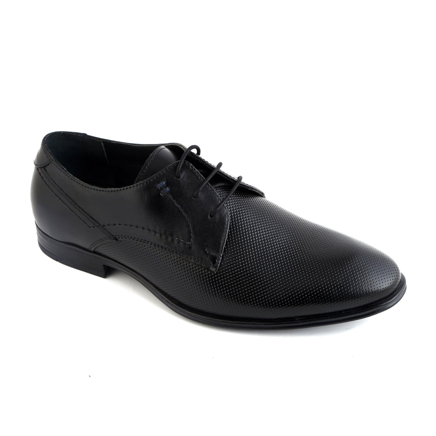 Rosanna Black Embossed Lace Up Formal Shoe