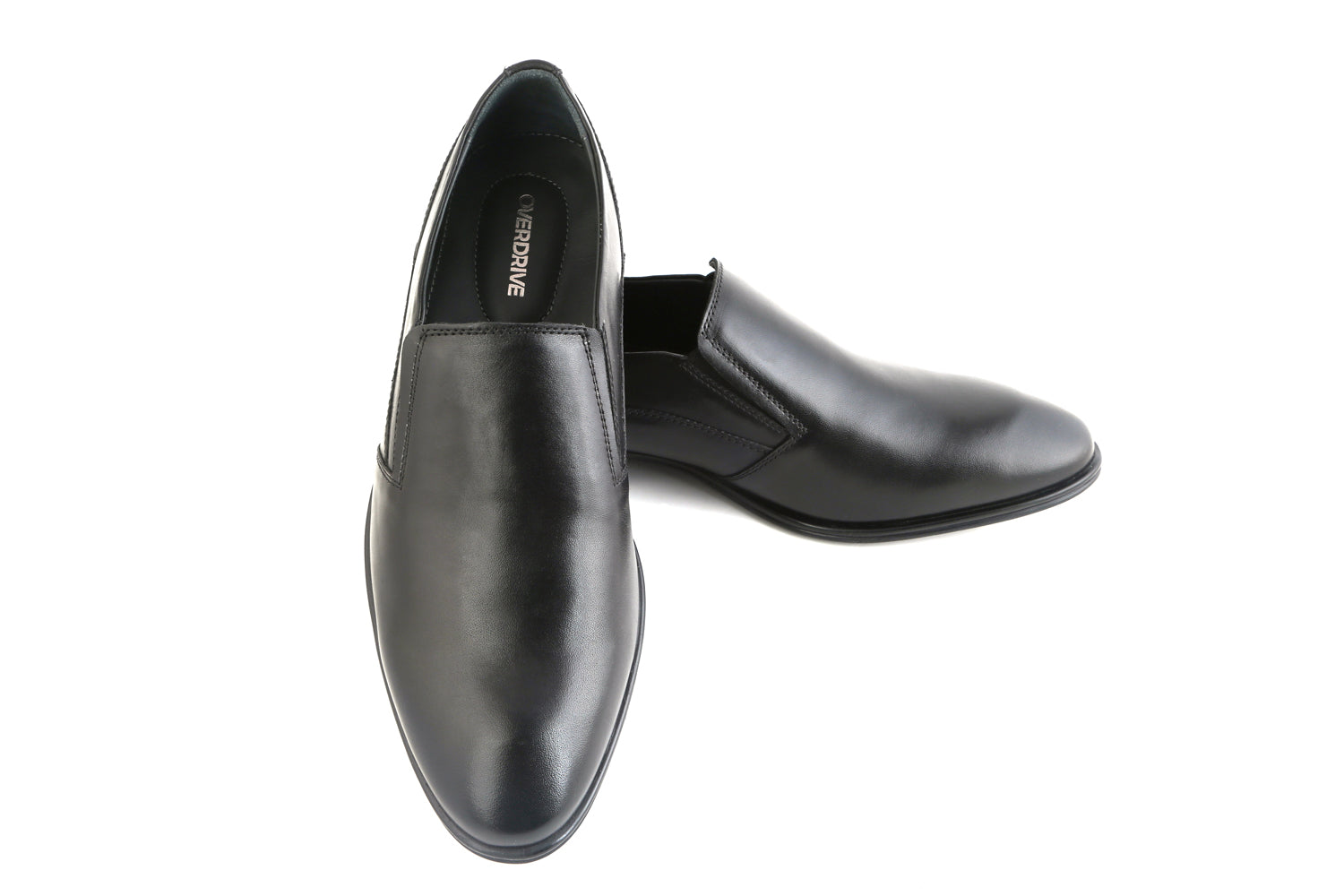 All or Nothing, Black Slip On Formal Shoe