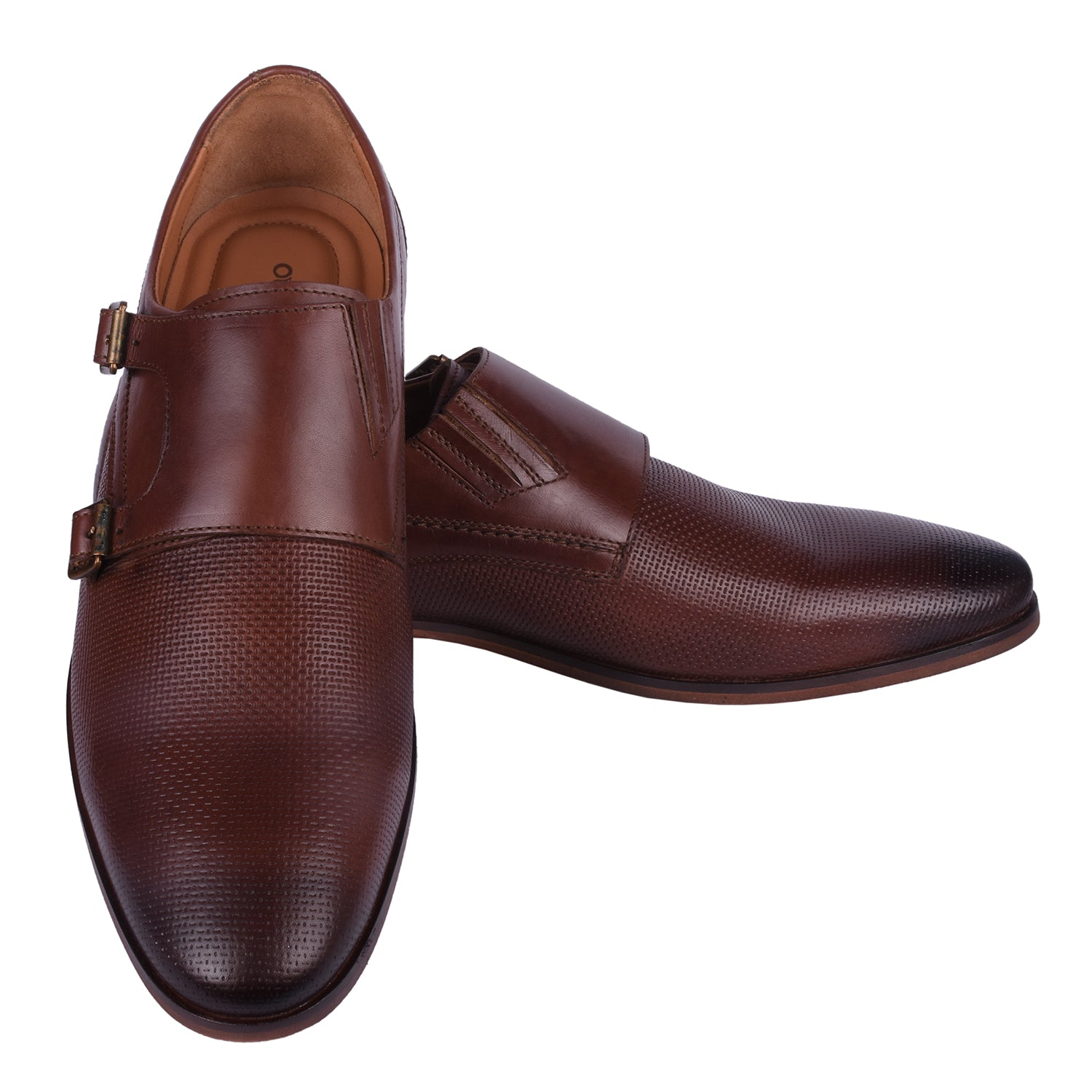 Uptown Girl, Brown Monk Shoe