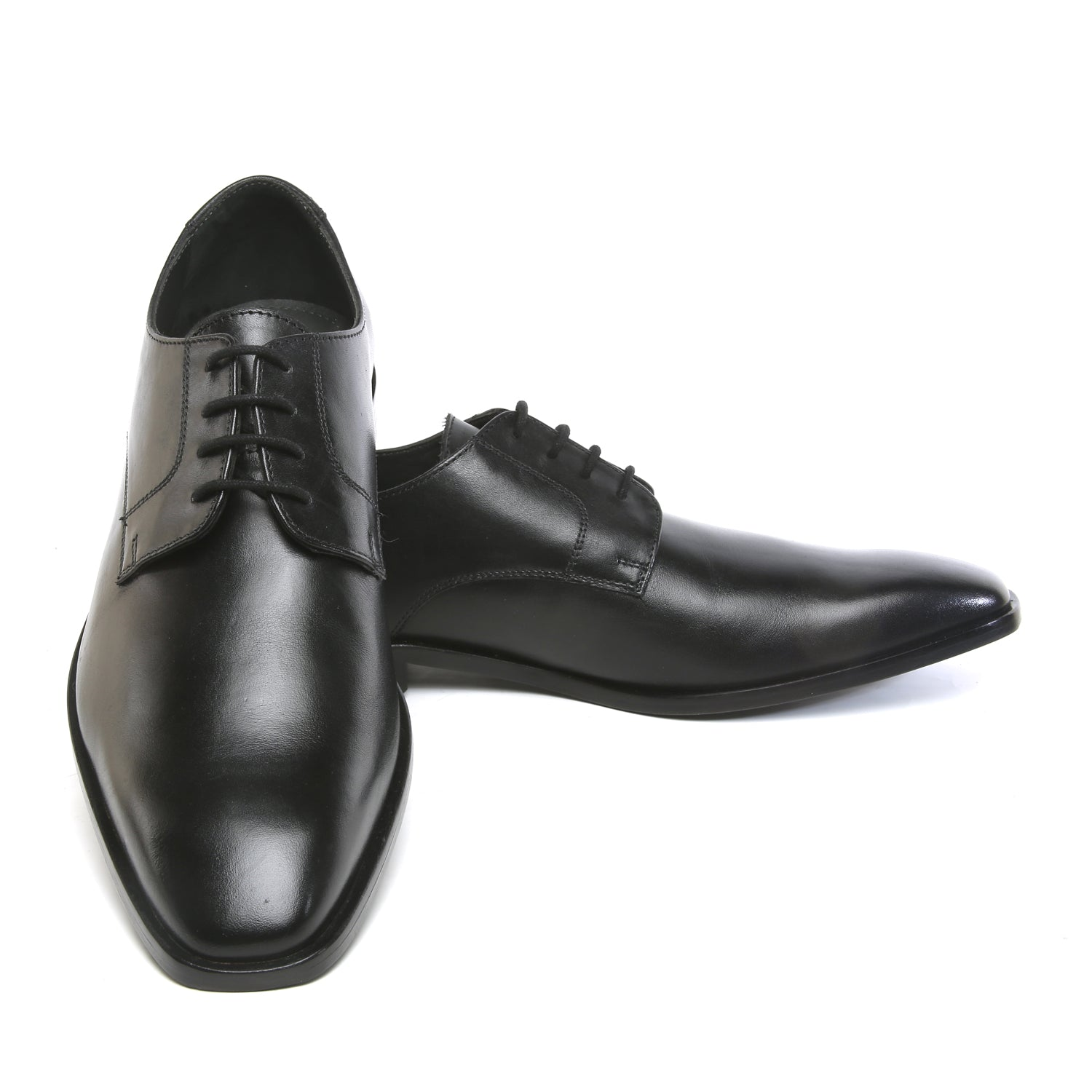 Classic Black Lace Up Formal Shoe