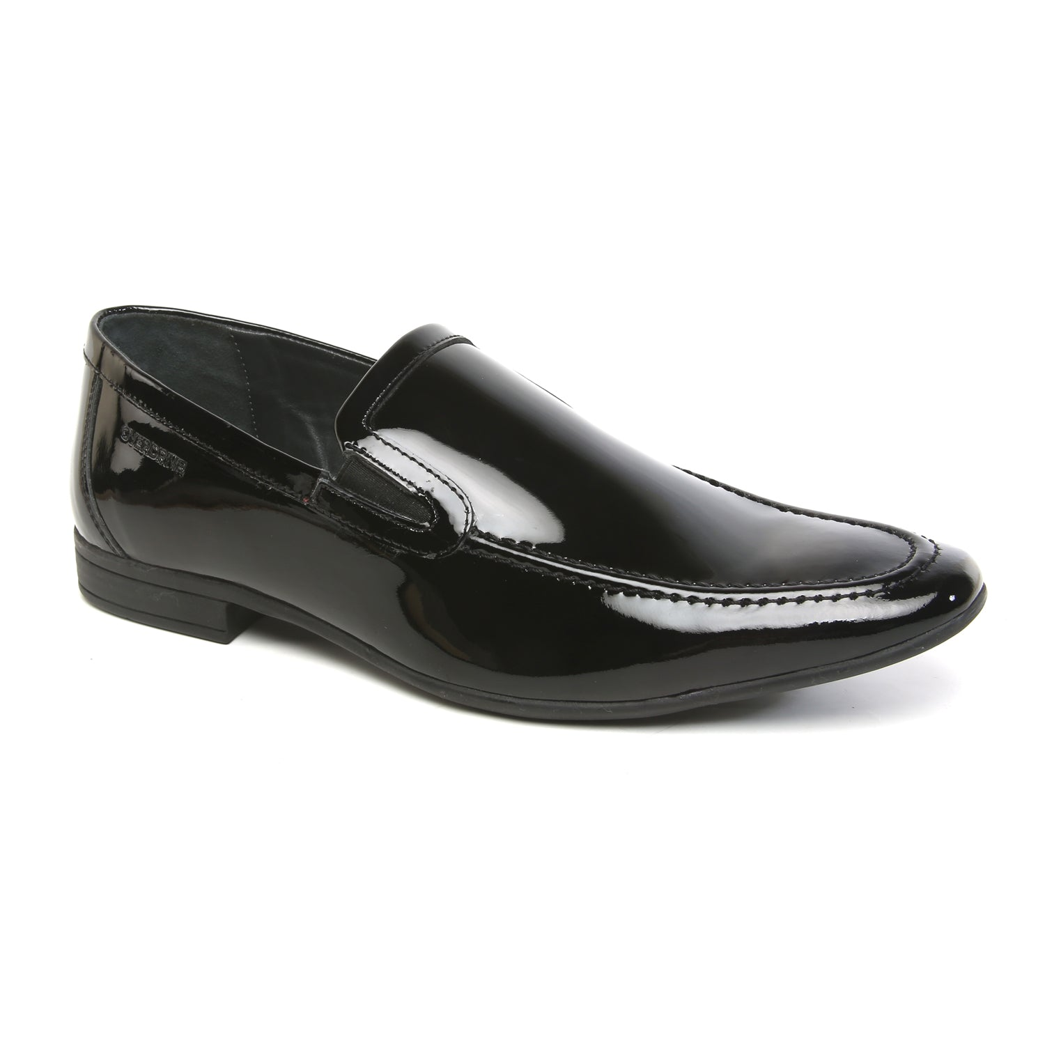 Shine On with Slip On Black Patent Shoe