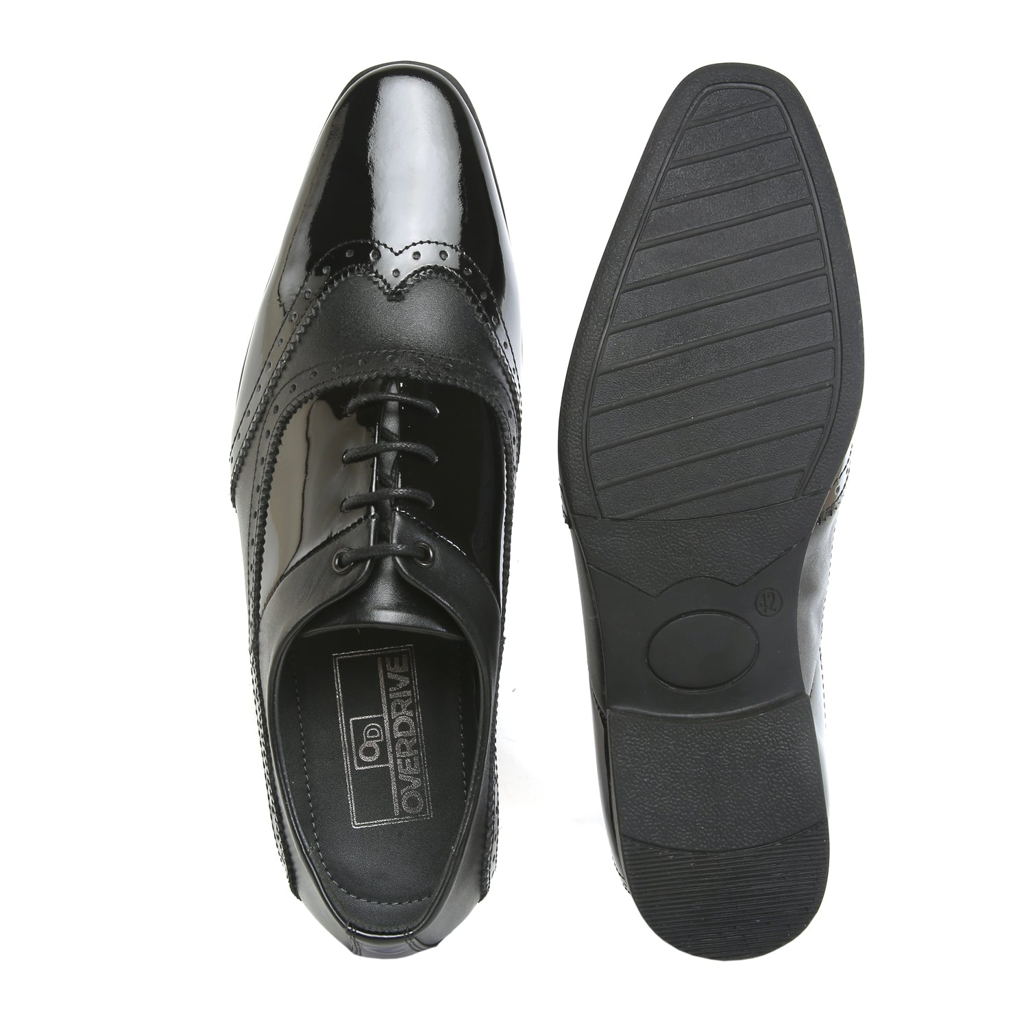 Shine On with Lace Up Black Patent Shoe