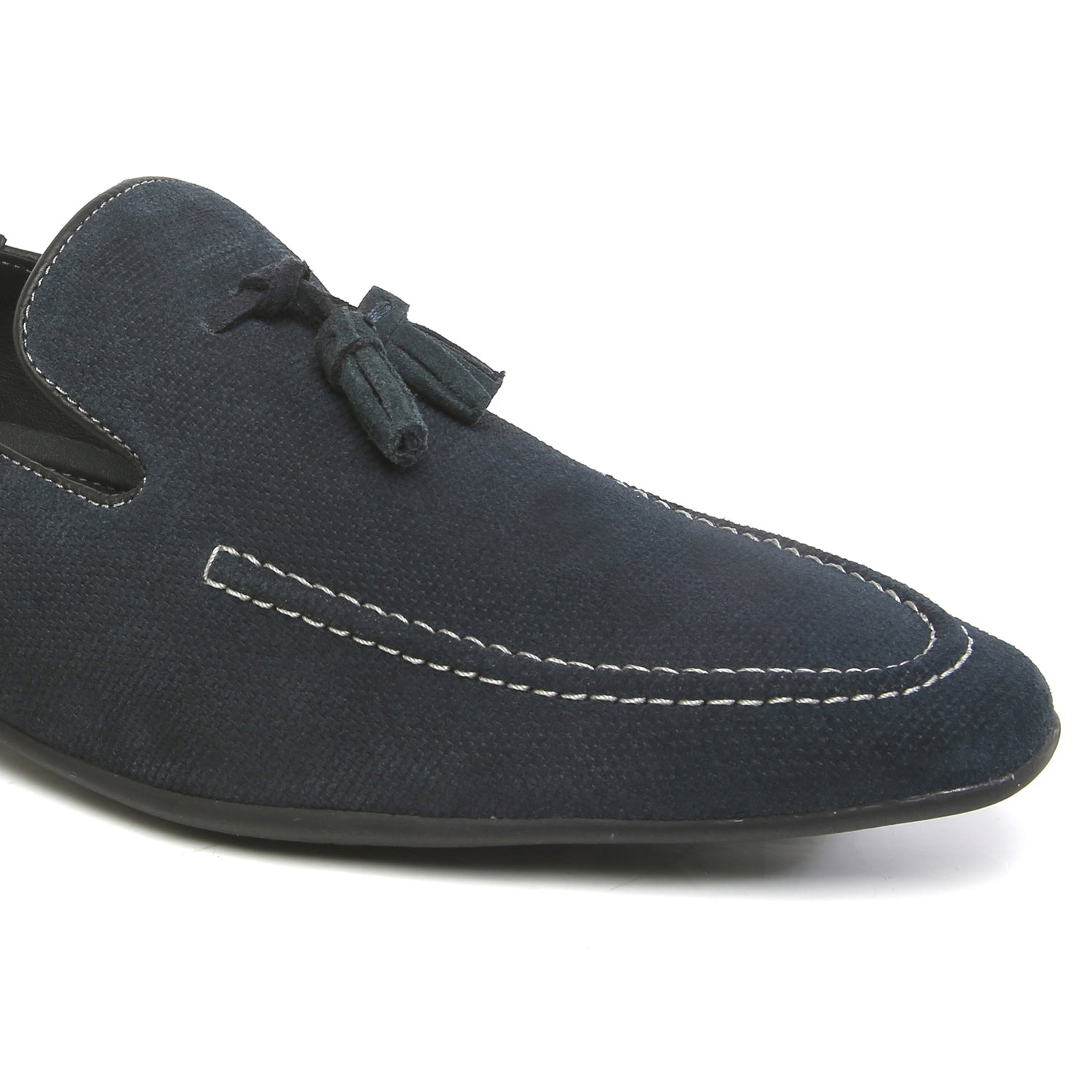 Denims Blue Loafer with Tassels