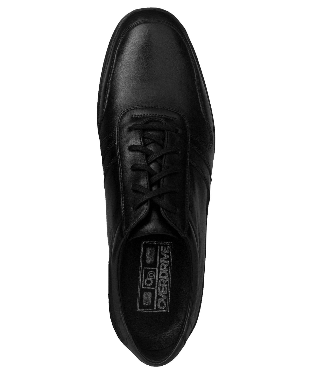 Black Aden Casual Lace Up Shoe