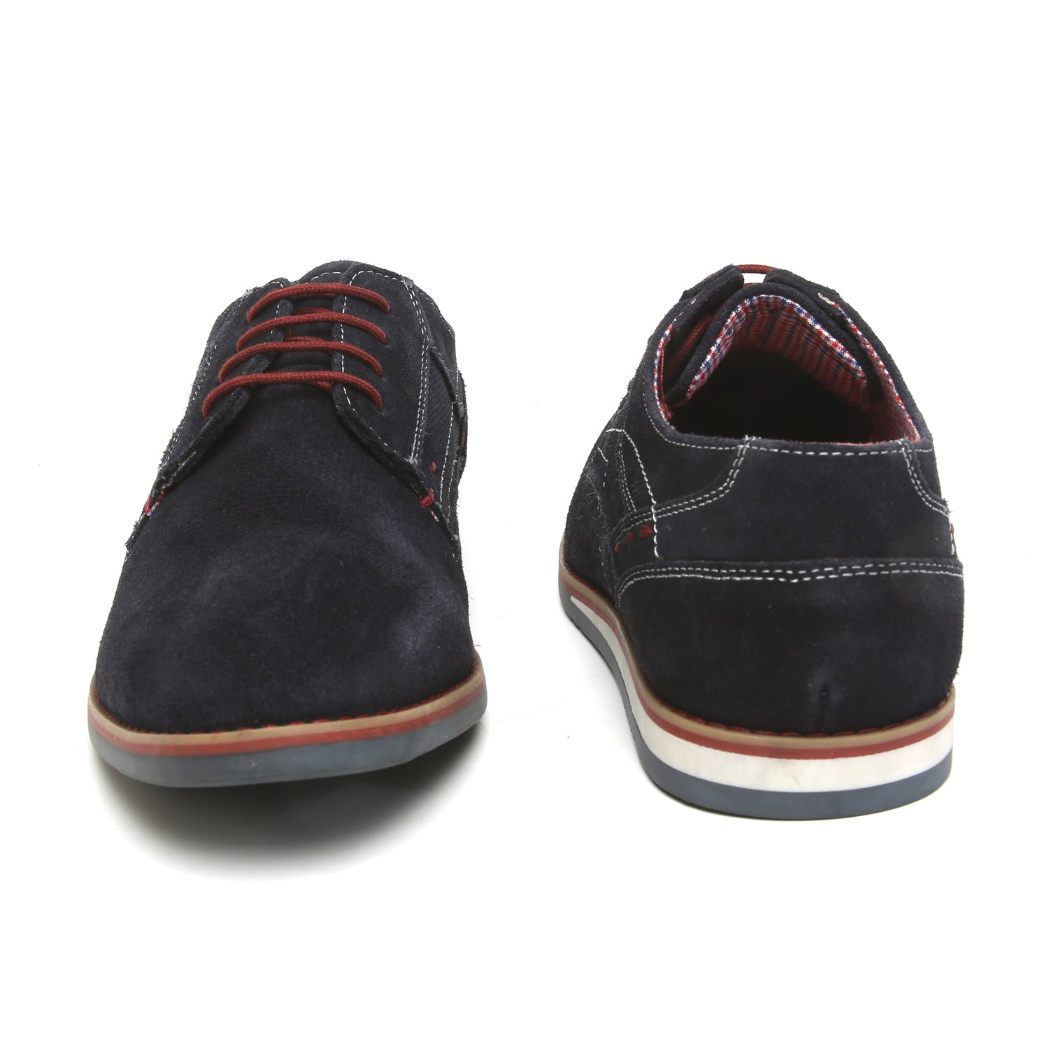 Avions Blue Casual Lace Up Shoe