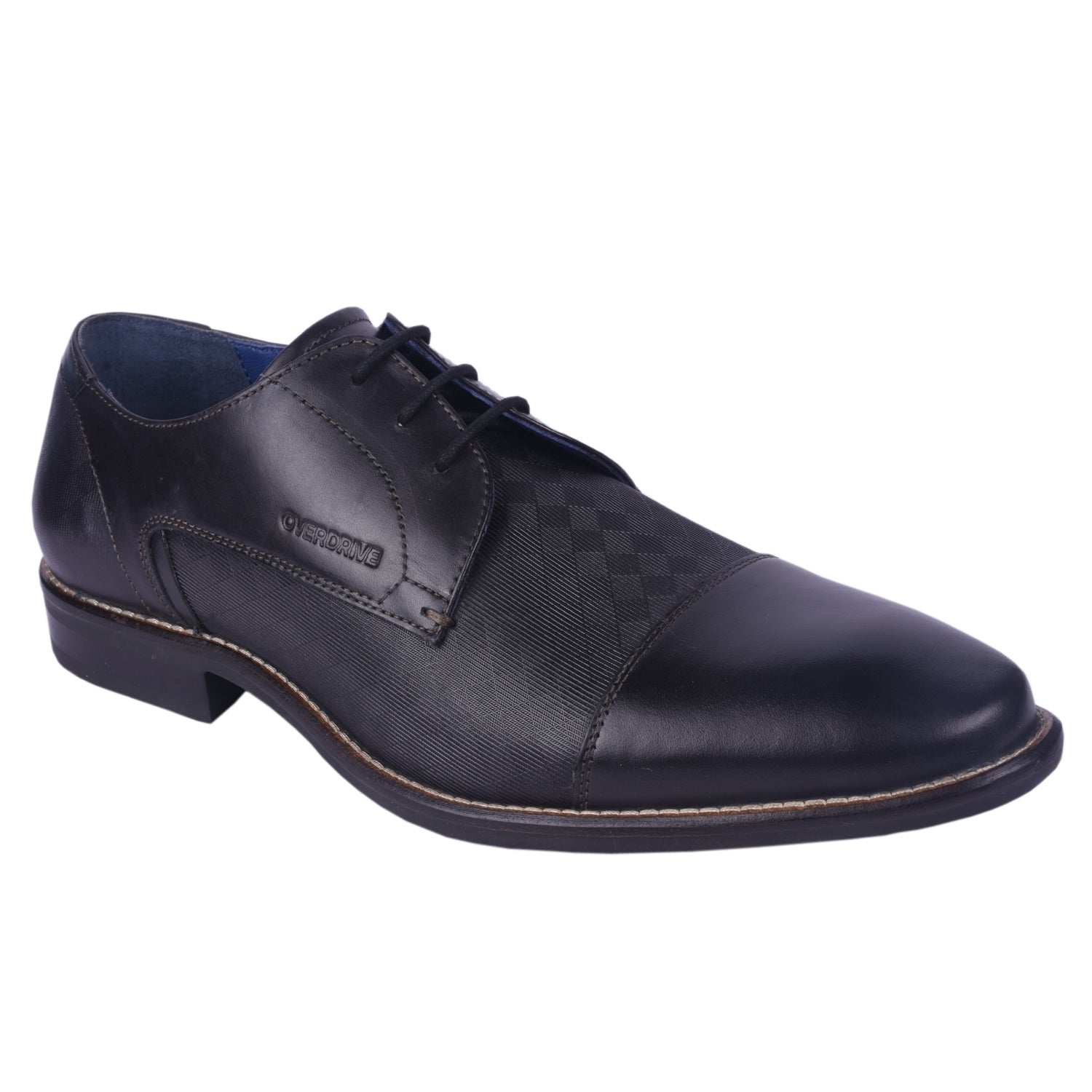 City Sleeker Black Formal Shoe