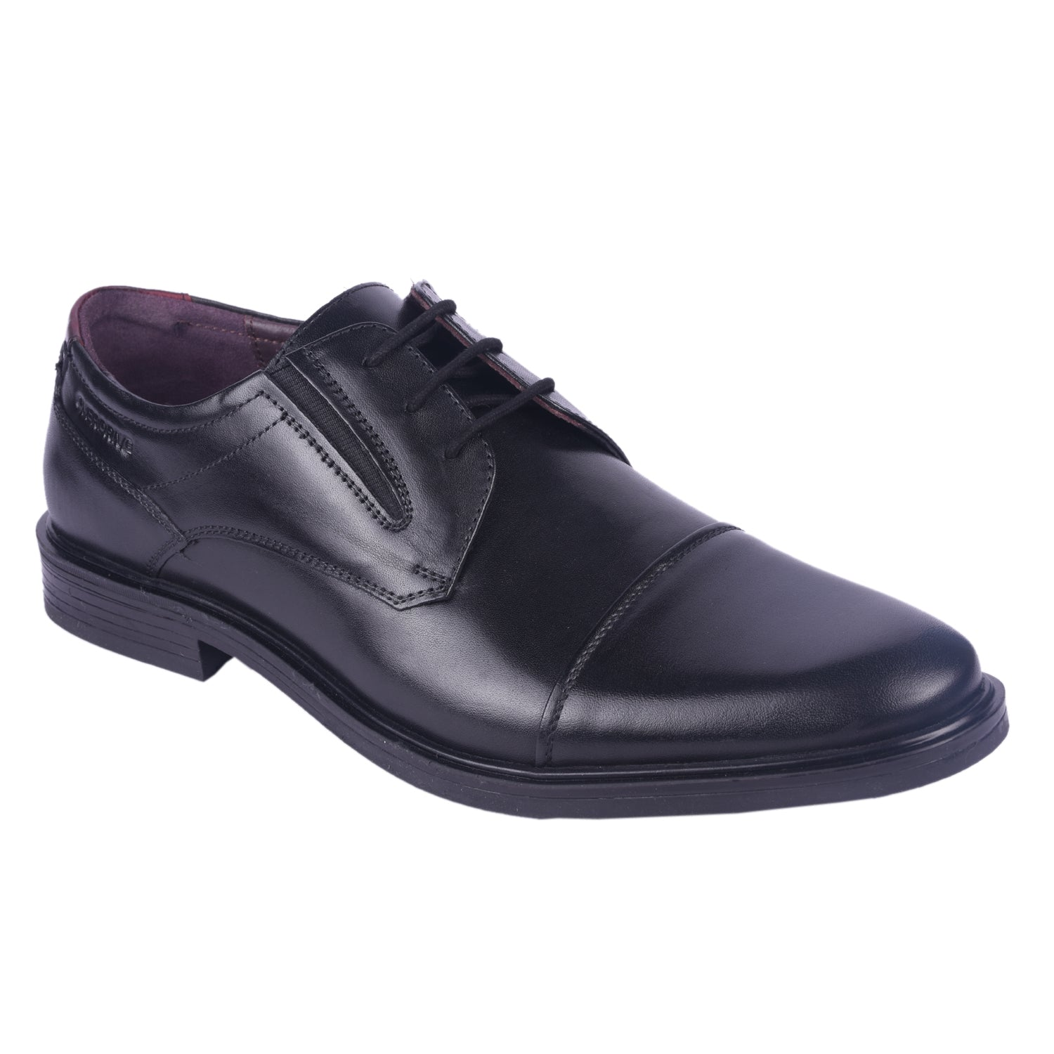 Up in the Air Black Lace Up Formal Shoe