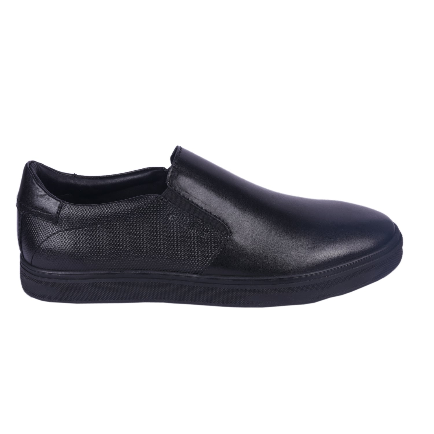 Step Up Charcoal Slip-on Shoe.
