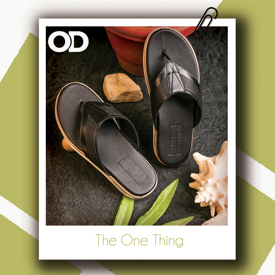 The One Thing,Black Slippers