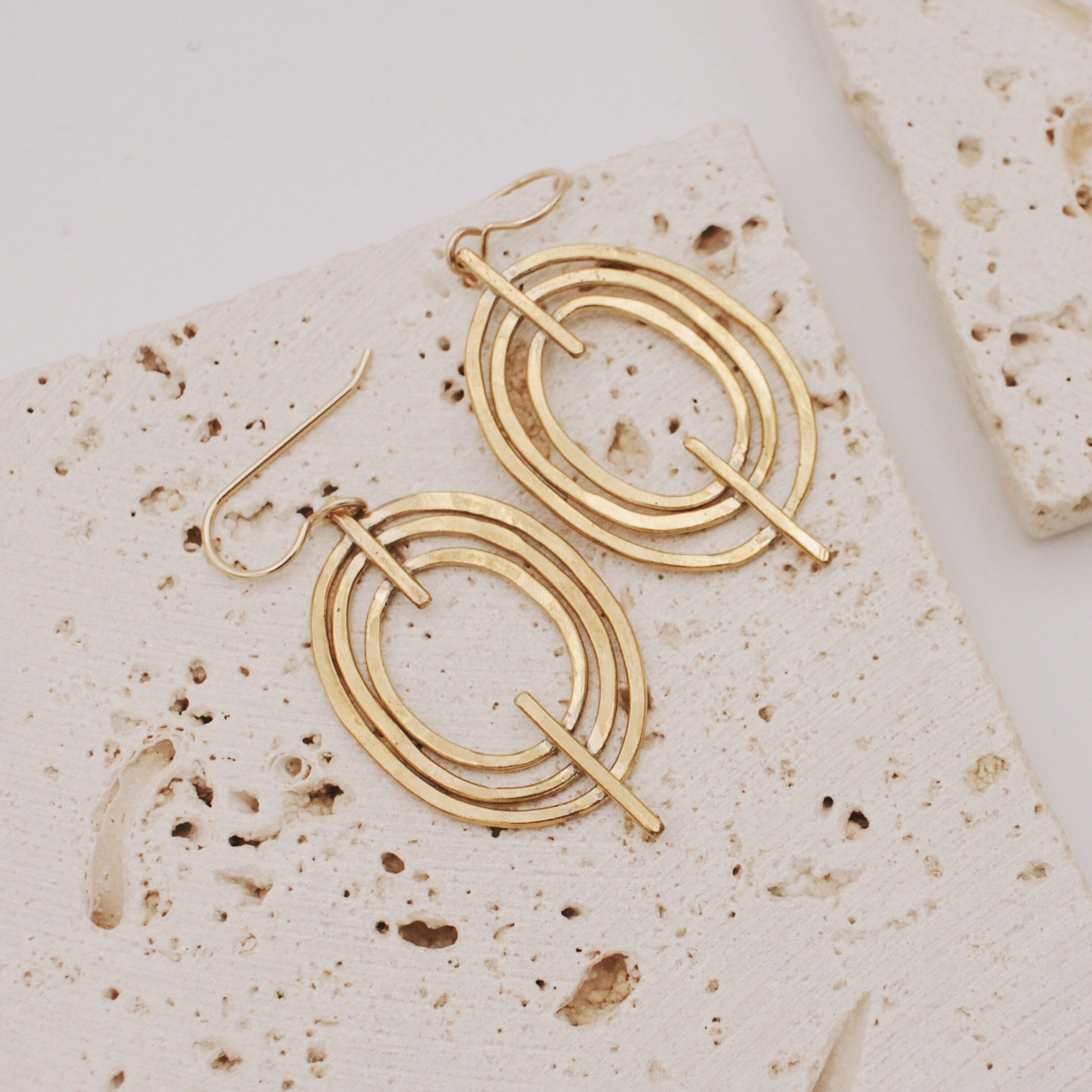 Concentric Earrings - SM