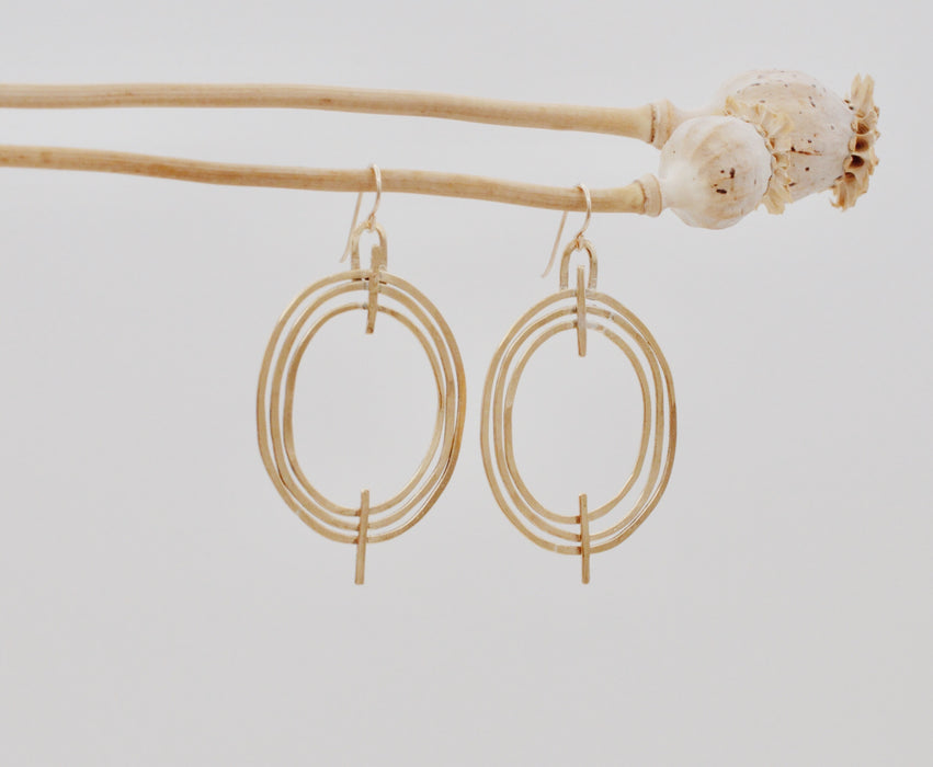 Concentric Earrings - LG