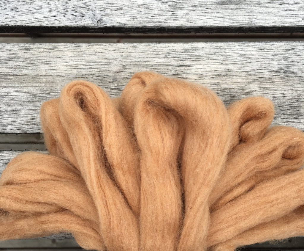 Cinnamon Cotton, Easy-to-Spin