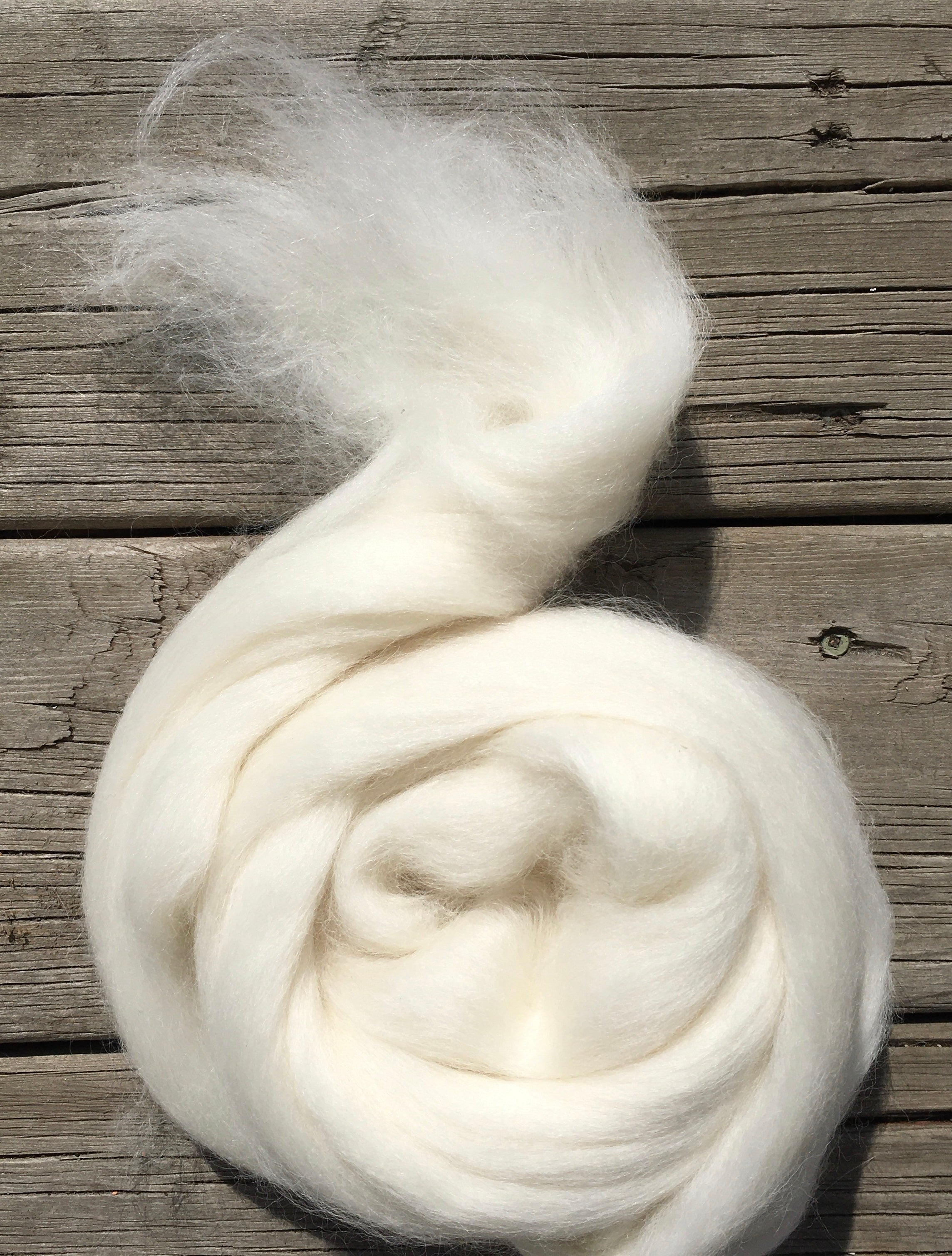 Baby Alpaca, Natural White