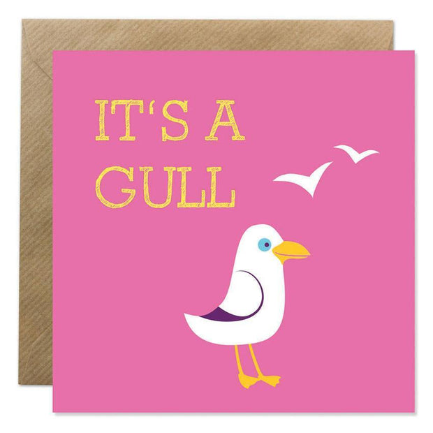 GIFT CARD - 'ITS A GULL'