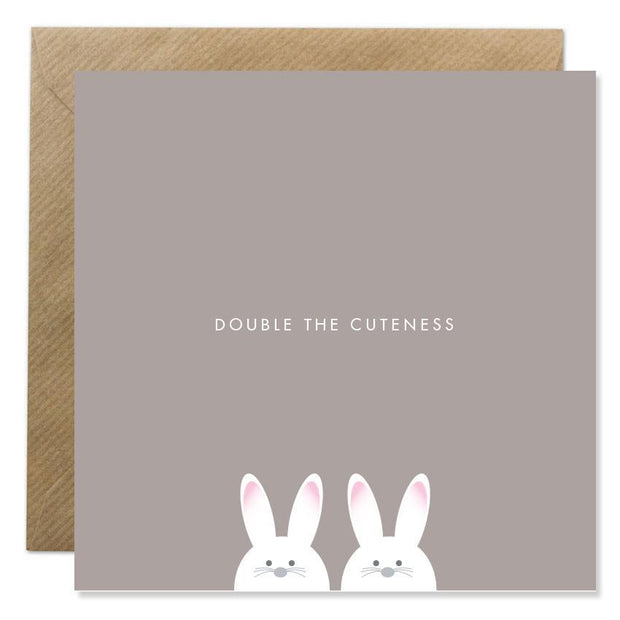 GIFT CARD - 'DOUBLE THE CUTENESS'