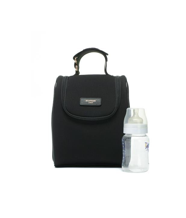STORKSAK ST JAMES SCUBA BABY CHANGING BAG - BLACK