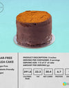 Sugar-Free Tablea Chocolate Cake
