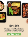 FIT LIFE Meal Plan (2000 calories per day)
