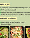 PLANT LIFE Meal Plan (1200-1500 calories per day)
